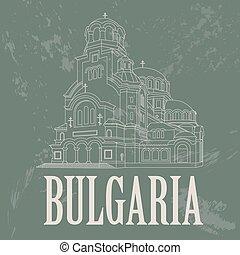 repères, bulgarie