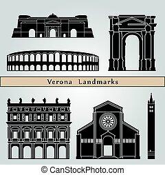 repères, vérone, monuments