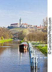 república checa, melnik, castillo