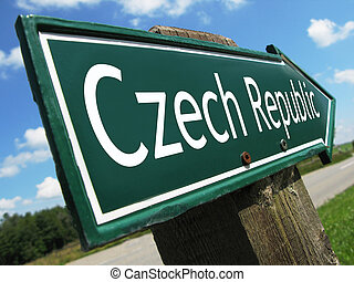 república checa, muestra del camino