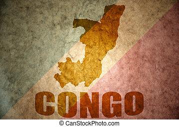 república del congo, vendimia, mapa