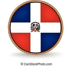 república, dominicano, sello