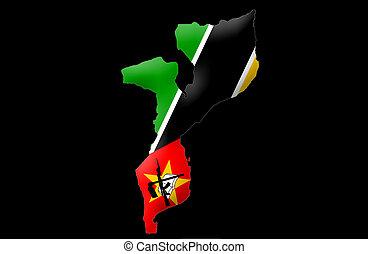 república, mozambique