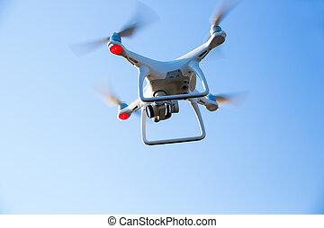 repülés, fényképezőgép, henyél