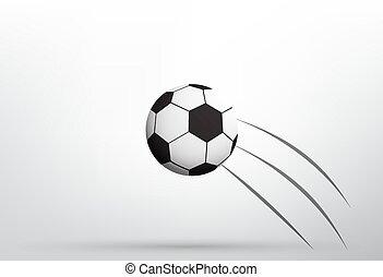 repülés, focilabda