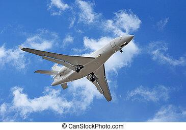 repülőgép bekapcsol
