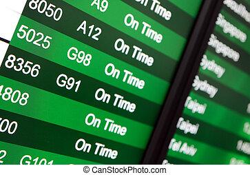 repülőtér, elutazás kosztol