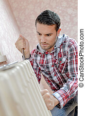 Repair a faulty radiator