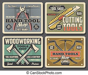 Repair and construction hand tools shop - Construction and...