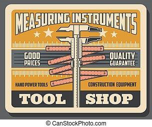 Repair and construction measure tools shop - Construction,...