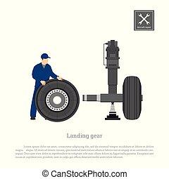 Repair and maintenance of aircraft.