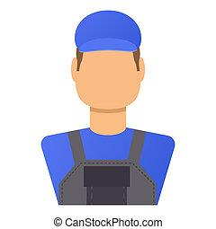 Repair avatar Icon flat style
