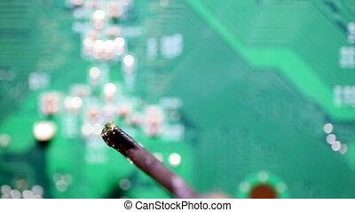 repair, computer circuit board