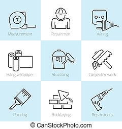 Repair home icons