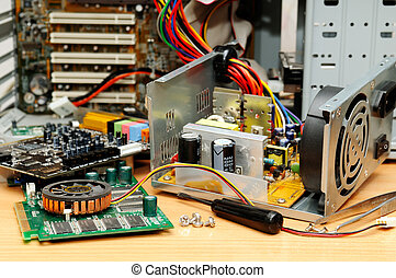 Repair of a computer - Repair of a computer...