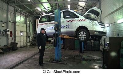 Repair of car