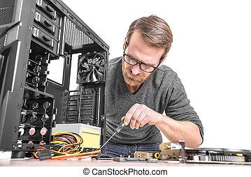 Repair of computer.