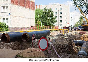 repair of urban water and sanitation systems