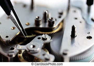 Repair of watches (small DOF)