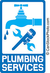 repair plumbing symbol, repair plumbing and plumbing design ...