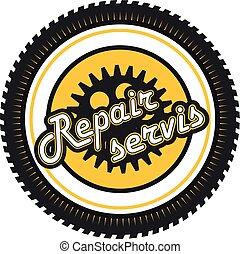 repair service badge
