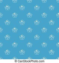 Repair service pattern vector seamless blue