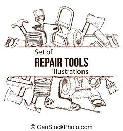Repair tool illustration