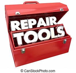 Repair Tools Fix Toolbox Solve Problem 3d Illustration