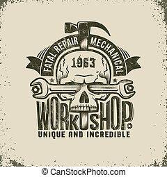 Repair Workshop Logo