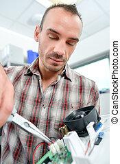 Repairing a circuit board
