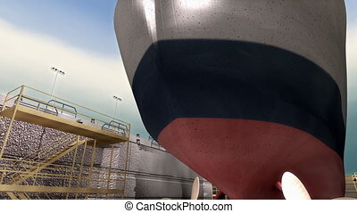 "repairing."", construction, ""ship, drydock"