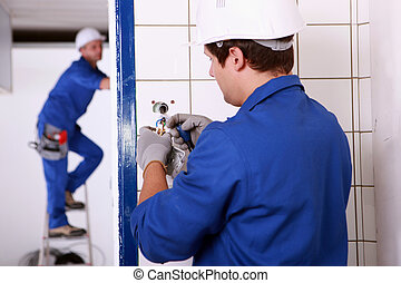 Repairing electrical installations