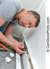 Repairing mains socket