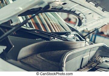 Repairing Modern Car