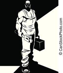 repairman , περίγραμμα , άντραs