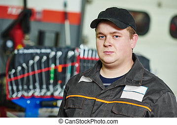 Repairman auto mechanic