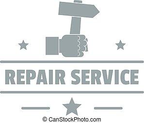 Repairman logo, vintage style