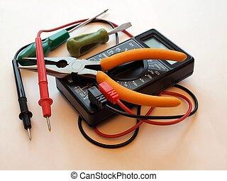 reparación, instrumentos