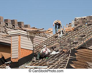 reparaciones, techo