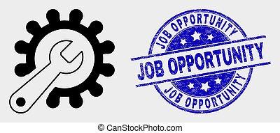 reparar, angústia, watermark, ferramentas, trabalho, vetorial, oportunidade, ícone
