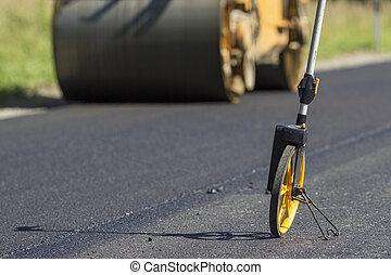 reparar, construção, rodovia