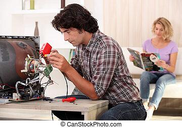 reparar, dispositivo