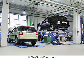 reparar el garage