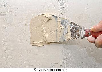 reparar, parede