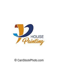 reparar, serviço, casa, desenho, lar, quadro, ícone