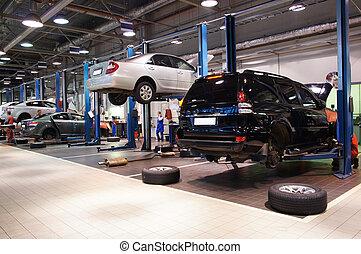 reparation bilverkstad