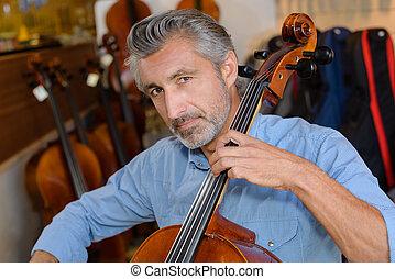 reparation of the cello
