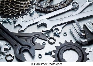 reparatur, fahrrad