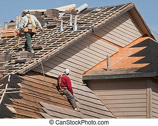 reparos, telhado