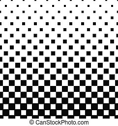 Repeat black and white vector square pattern